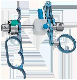 Элемент рабочий резектоскопа пассивный, с титановой рукояткой